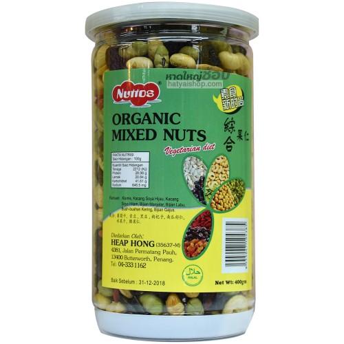 ถั่วธัญพืชรวม (Nuttos Organic Mix Nuts)