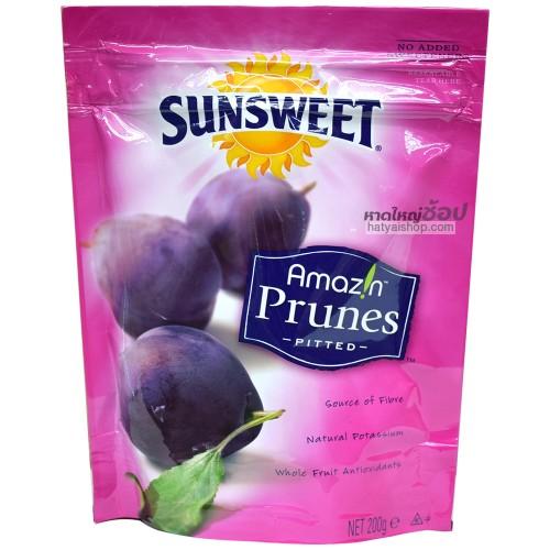 ลูกพรุน ซันสวีต prunes sunsweet