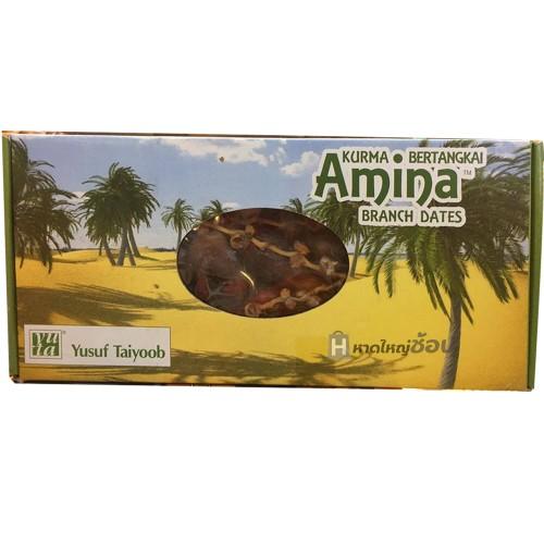 อินทผาลัมตูนิเซีย ยี่ห้อ Amina 500 กรัม